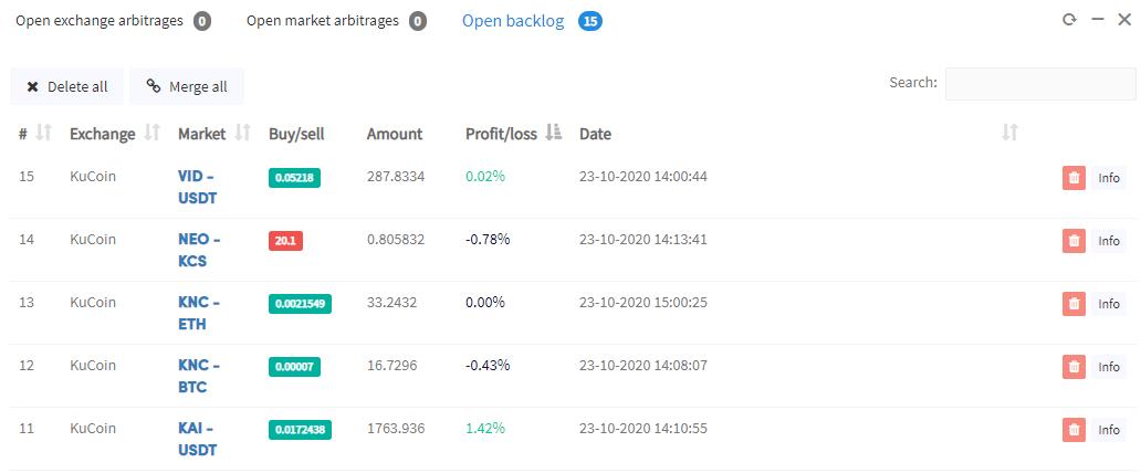 arbitražas trading crypto bot