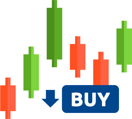 Trailing stop-buy