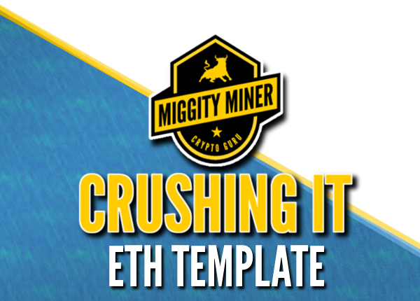 Miggity's Crushing It! -ETH