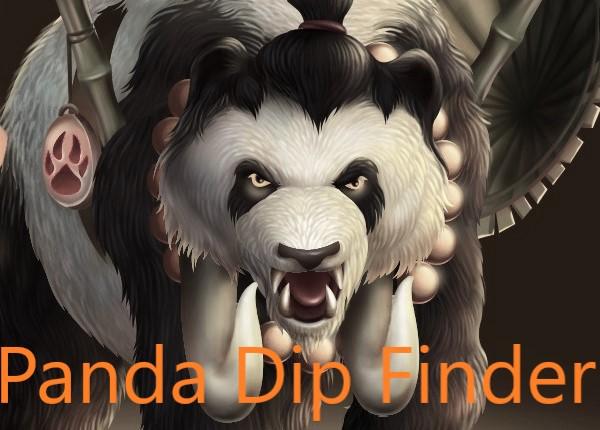 Panda Dip Finder