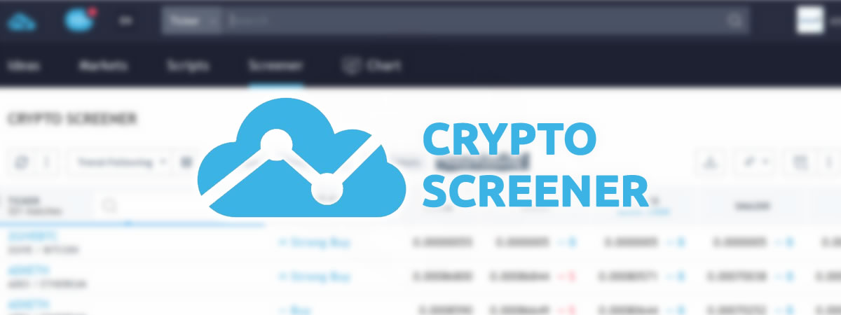 TradingView Crypto Screener