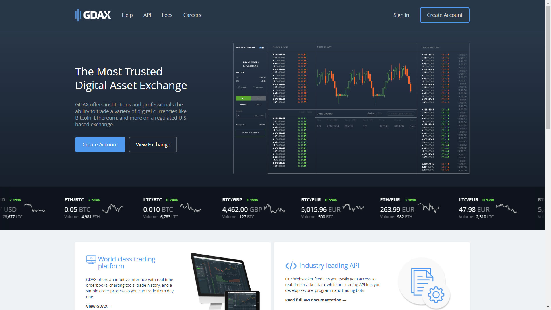 the-coinbase-pro-landing-page