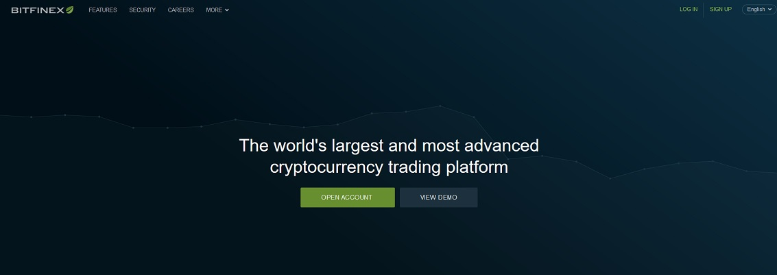 Bitfinex homepage Cryptohopper